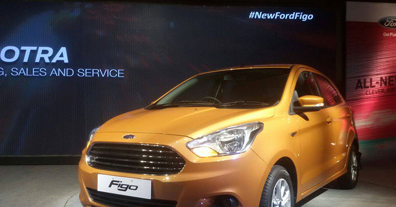 New Ford Figo Hatchback