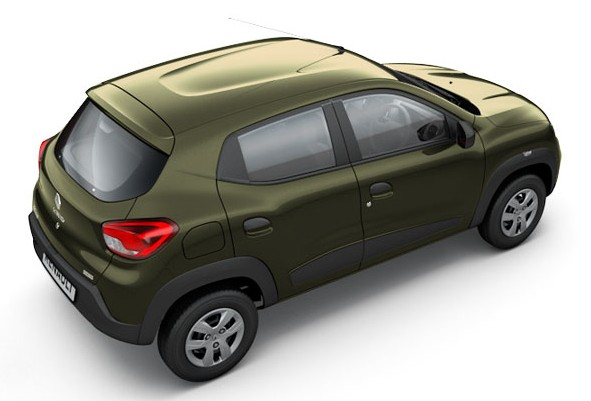 Renault Kwid Bronze Colour