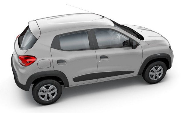 Renault Kwid Silver Colour