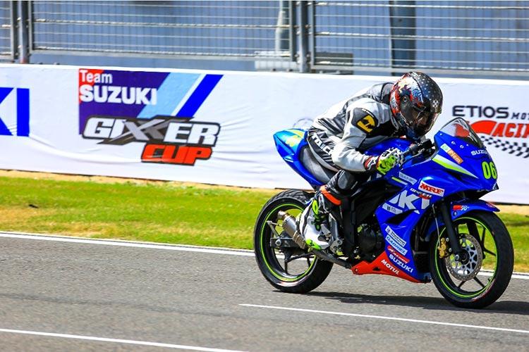 Suzuki Gixxer Cup 1