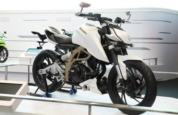 TVS Apache 200 launch in November