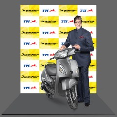 Amitabh Bachchan is now TVS Jupiter's Brand Philosophy Evangelist