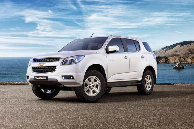 Chevrolet TrailBlazer Launch
