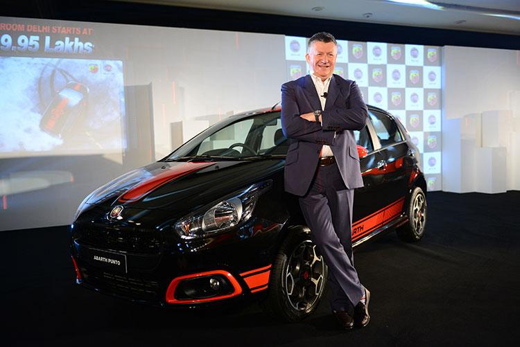 Fiat Abarth Punto Launch