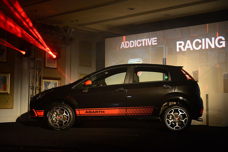 Fiat Abarth Punto launched in India at 9.95 Lakhs