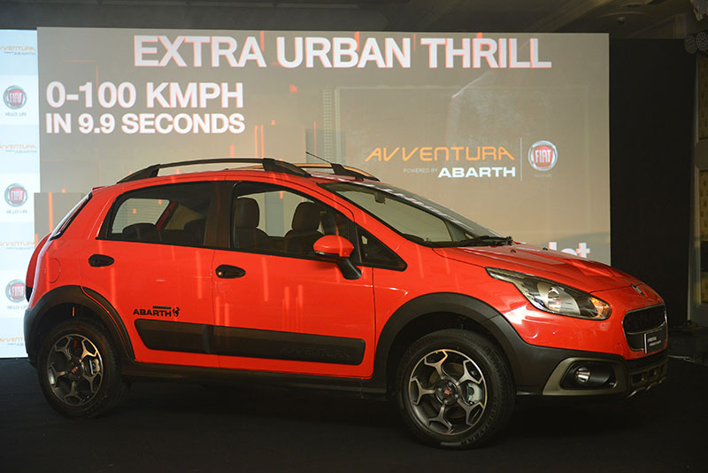 Fiat Avventura Abarth launch in India