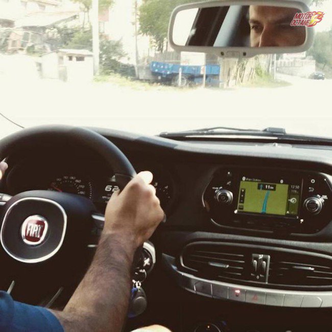 Fiat Egea Interior with Infotainment System Spotted