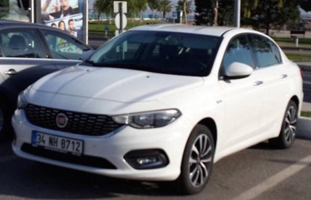 Fiat Egea Spotted in India