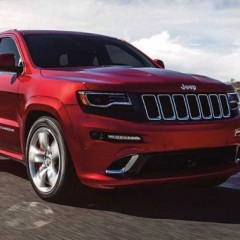 Jeep Grand Cherokee SRT spotted testing in India
