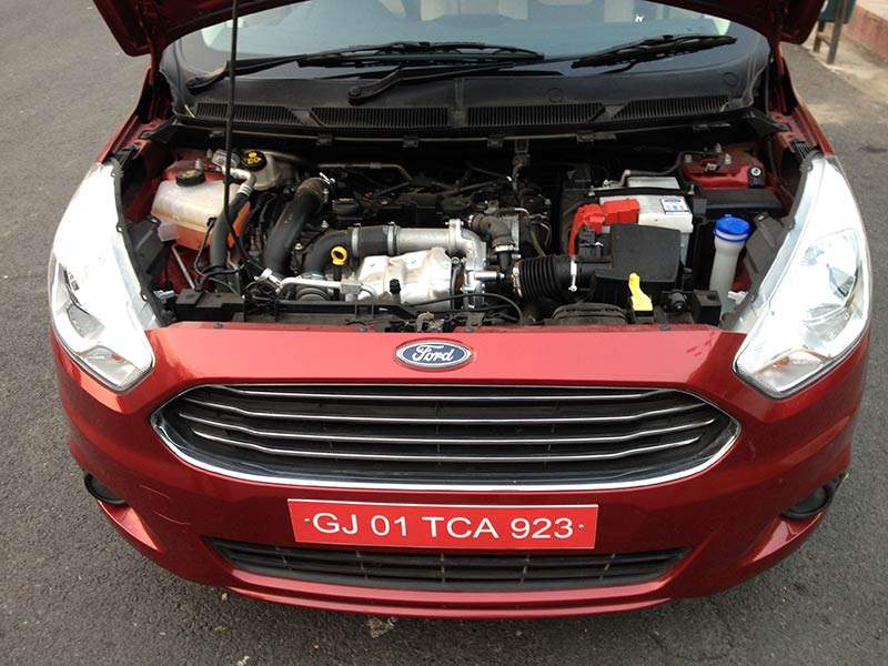 Ford Figo Aspire Engine Bonnet Open