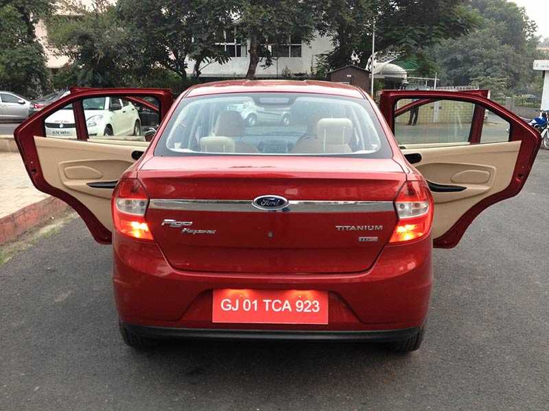 Ford Figo Aspire Doors Open