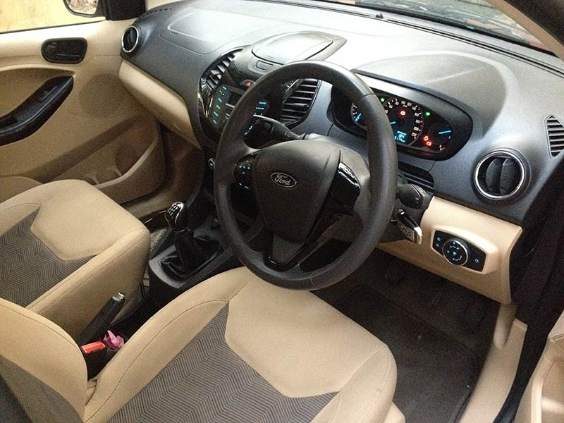 Ford Figo Aspire Interior Front Photo
