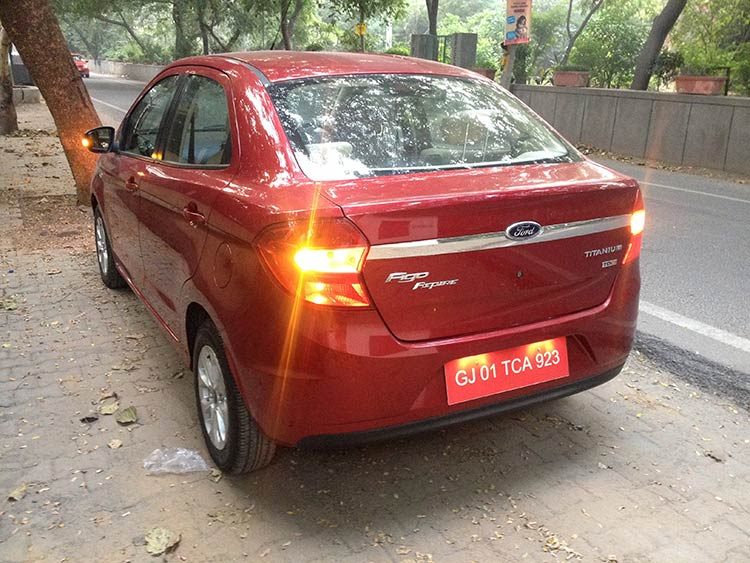 Ford Figo Aspire Rear End