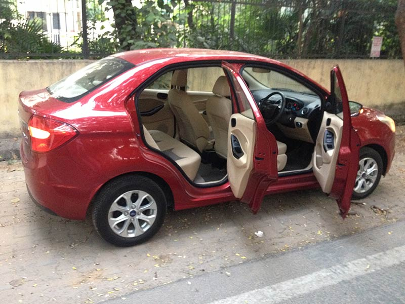 Ford Figo Aspire Design and Comfort Photos