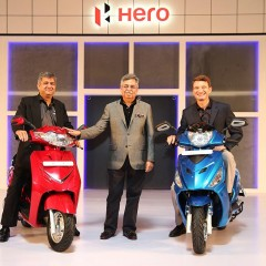 Hero MotoCorp sells 663,153 units in October 2016