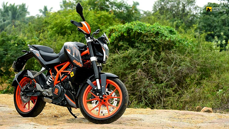 Image result for KTM is here with its impressive duke 200 bike