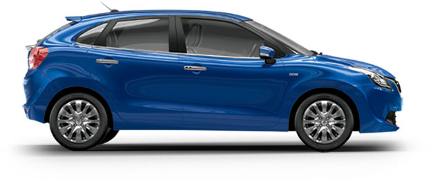 Maruti Baleno in Blue