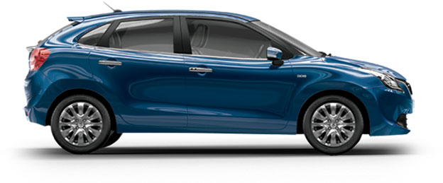 Maruti Baleno Blue Ray