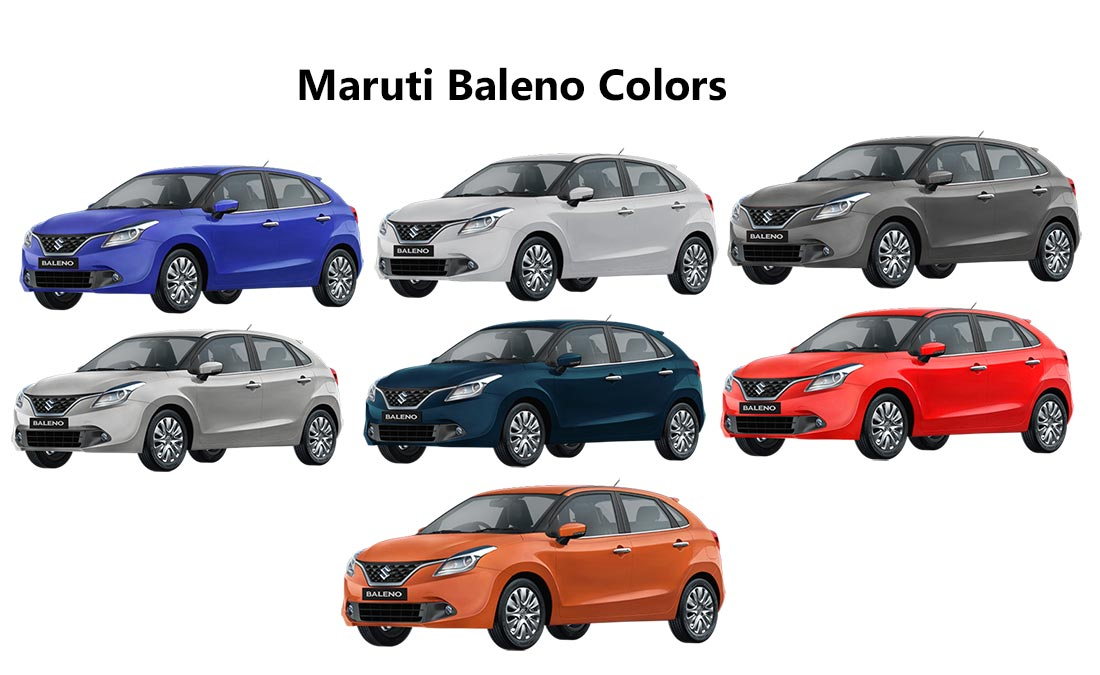 2018 Maruti Baleno Colors