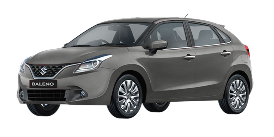 Maruti Baleno Grey Color - Maruti Baleno Granite Grey Color Variant