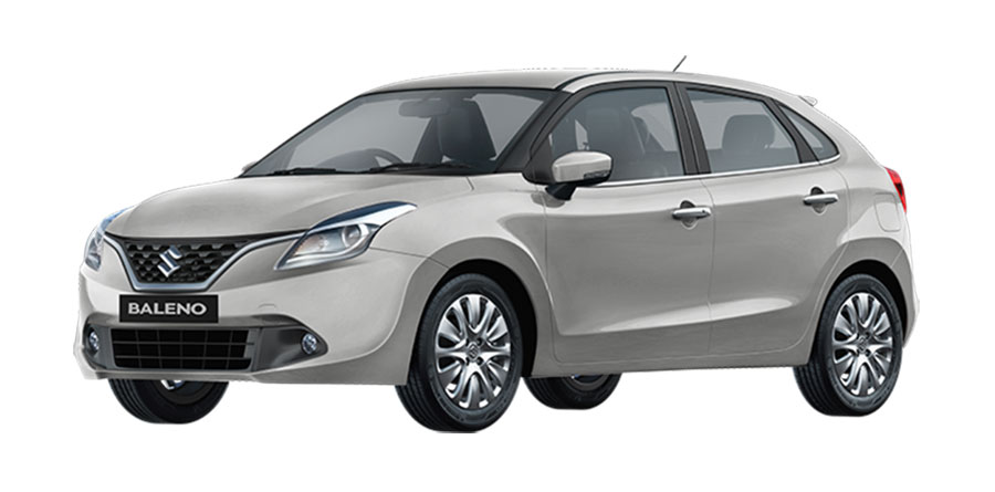 Maruti Baleno Silver Color Premium Silver Color Photo