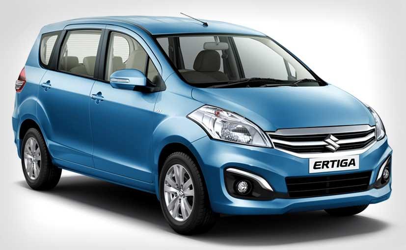 New Maruti Ertiga Facelift Front
