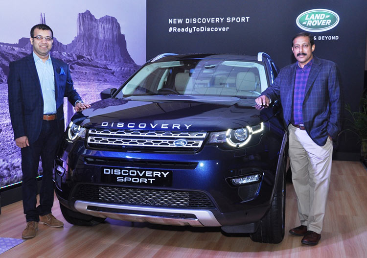 New Discovery Sport Launch