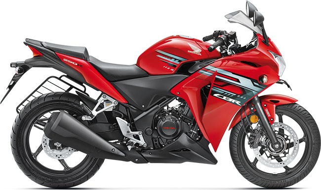 Refreshed Honda CBR250R in Red Color