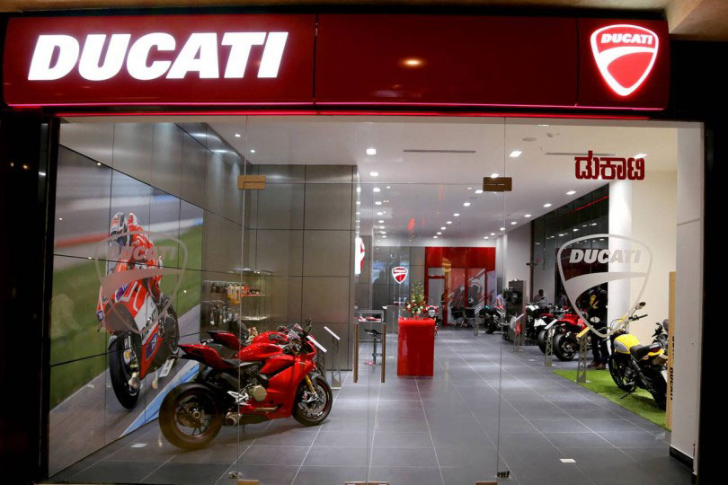 Ducati Opens New Dealership In Bangalore Gaadikey