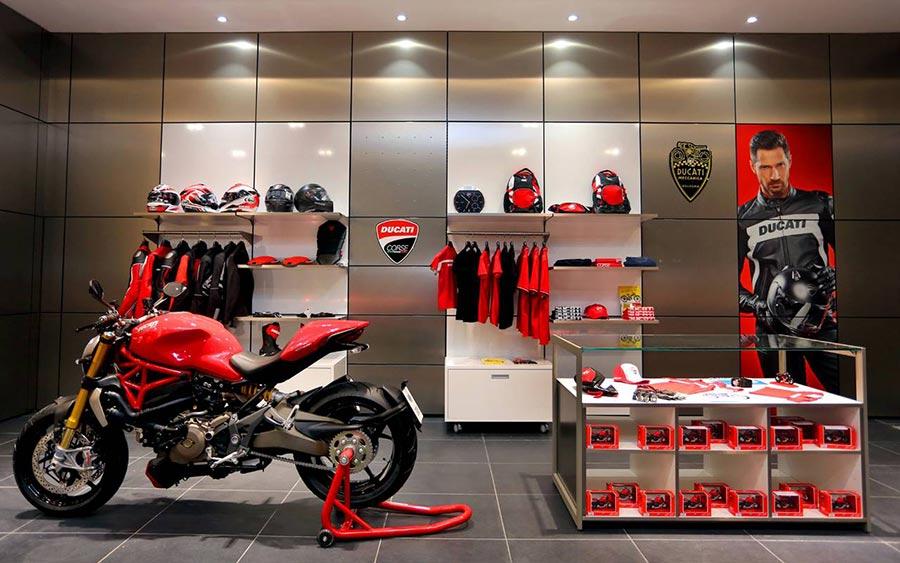 Ducati Dealership Bangalore in India