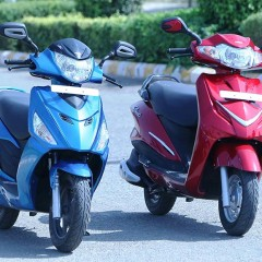 Hero Scooter market share reaches 20% in October 2015