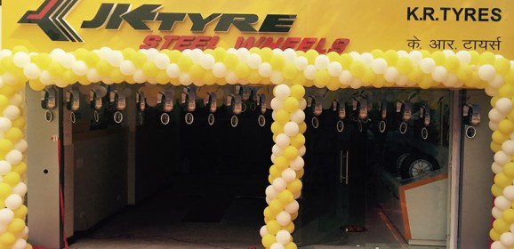 JK Tyre opens Steel Wheels Showroom in Harinagar,Delhi