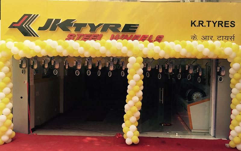 JK Tyre in Delhi