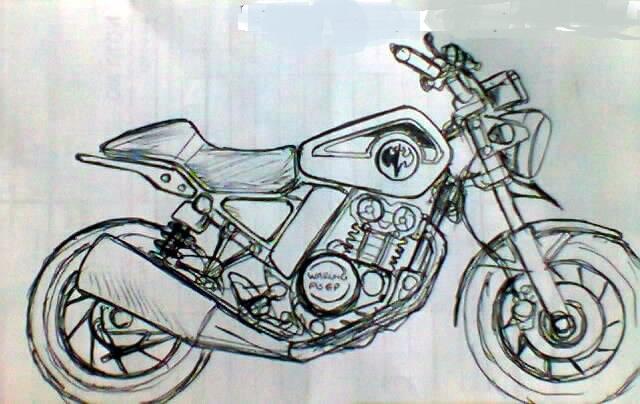 Kawasaki Scrambler 150cc Motorcycle