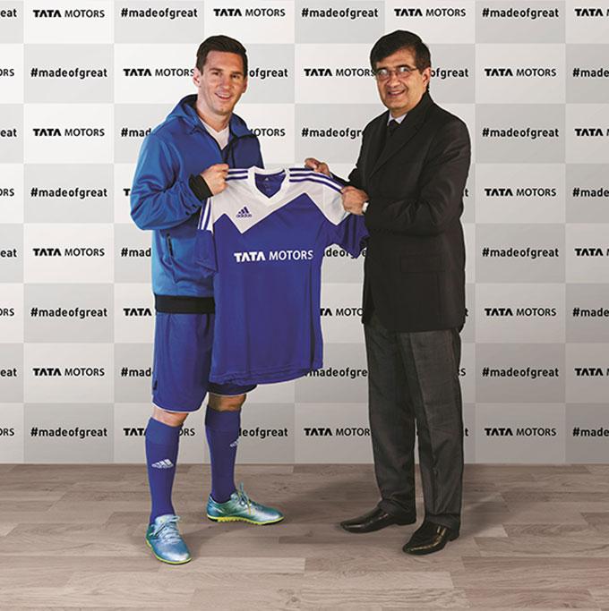 Lionel Messi Tata Cars Global Brand Ambassador