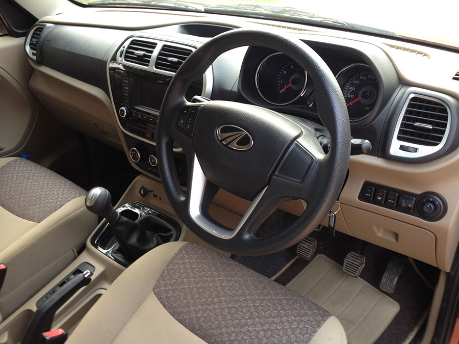 Mahindra TUV300 Interior Photo 3