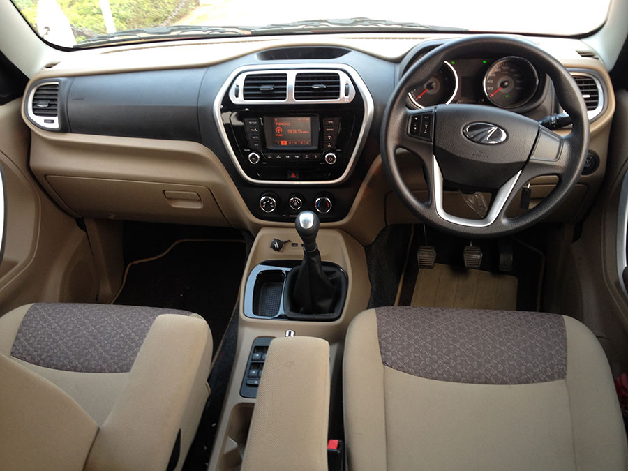 Mahindra TUV300 Interior Photo 1