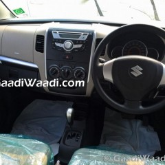 Maruti WagonR AMT version Spotted