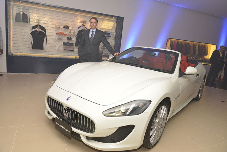 Maserati Enters South India; Launches Showroom in Bangalore