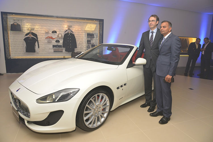 Maserati Dealership launch in Bangalore.