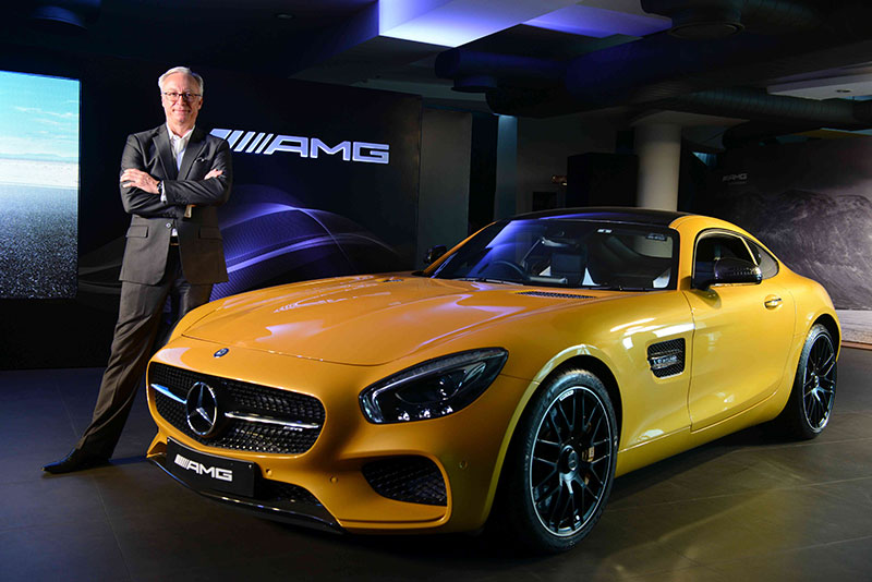 Mercedes AMG GT S Photo 2