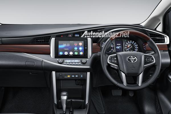 Next Generation Toyota Innova Interiors
