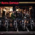 Royal Enfield Store opened in Paris