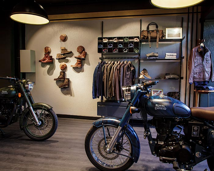 Royal Enfield Store in Paris