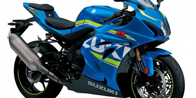 Suzuki GSX R1000 motorcycle revealed