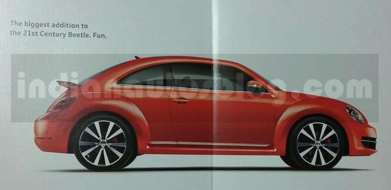 Volkswagen Beetle Brochure Leaked