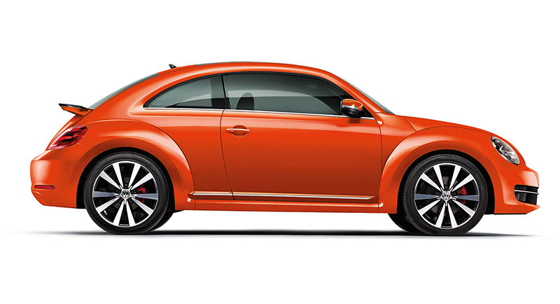 Volkswagen Beetle Colors In India Blue Red Orange