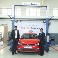 Volkswagen Express Service facility opened in Coimbatore