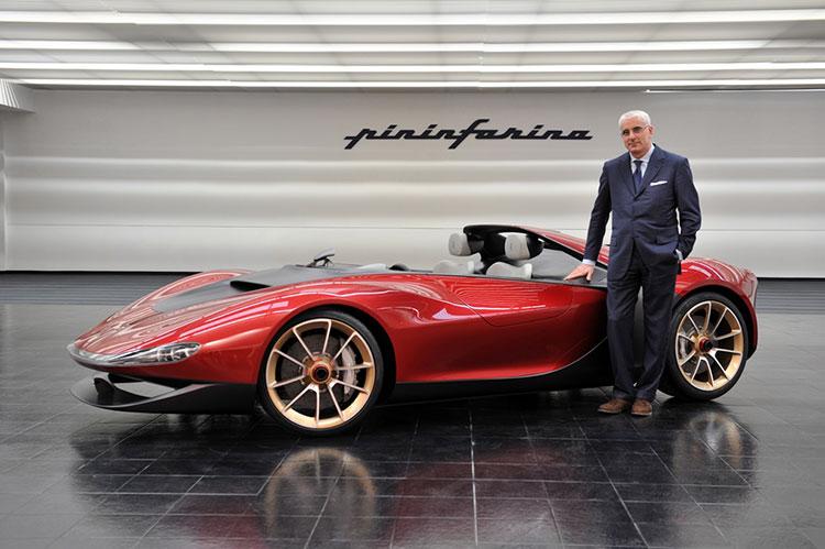 Pininfarina Ferrari Sergio Concept