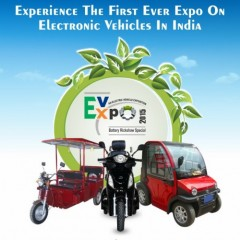 First Ever International Electric Vehicle Expo in India – December 24 to 27
